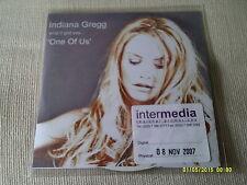INDIANA GREGG - ONE OF US - 3 TRACK UK PROMO CD SINGLE