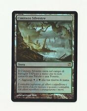 Mtg Italian Foil Woodland Cemetery x1 Innistrad Magic the Gathering NM