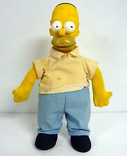 "THE SIMPSONS HOMER SIMPSON Vintage Fox Burger King 10"" Plush COMPLETE 1990"