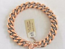 NEW Solid Copper Heavy Chain Link Bracelet - Arthritis Relief Folklore