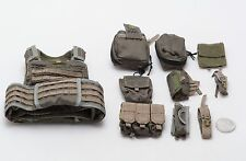 1/6 Soldier Story 75th Ranger Regiment Ranger Green EBAV Vest Set *TOY*