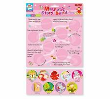 Childrens Girls Magnetic Story Board Red Riding Hood Fridge Magnet Toy Party Bag