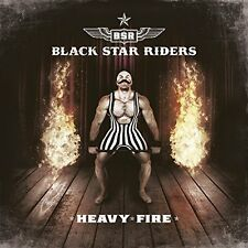 BLACK STAR RIDERS - HEAVY FIRE DELUXE CD MINT + FREE UK P&P (PRE-ORDER)