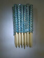 Bling Candy Apple/ Cake Pop Sticks - Blue /12 pk