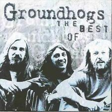 """GROUNDHOGS """"The Best Of"""" new unopened CD EMI Gold Groundhogs THE BEST OF cd"""