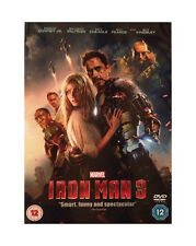 IRON MAN PART 3 DVD MARVEL ORIGINAL UK Release Third Movie 3rd Film IRONMAN