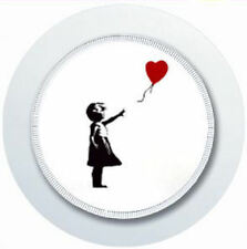 BANKSY GIRL AND BALLOON CAR TAX DISC HOLDER REUSABLE