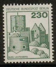 GERMANY SGB524b 1977 GERMAN CASTLES 230pf GREEN MNH