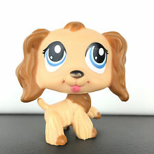 Authentic Littlest Petshop 1318 Dog Spaniel Cocker / Chien Epagneul LPS Hasbro
