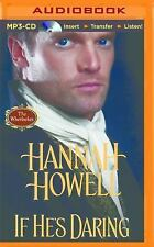 Wherlockes: If He's Daring by Hannah Howell (2015, MP3 CD, Unabridged)