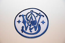 SMITH & WESSON S&W LOGO PATCH M&P 9MM .40 .45 22 SHIELD SIGMA BODYGUARD GOVERNOR