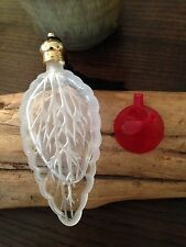 A  Small  Portable Crystal perfume bottle With Black Tassel New