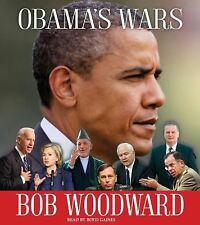 BOOK/AUDIOBOOK CD Bob Woodward Politics History OBAMA'S WARS