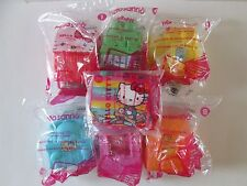 McDonalds 2016 6 HELLO KITTY SANRIO Happy Meal Toys & sketch kit