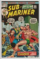 Sub-Mariner #59 VF+1st vs Thor WH