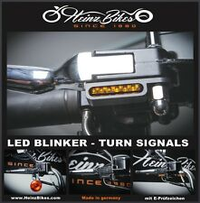 LED Blinker für Harley-Davidson Turn Signals Lenker Armaturen Montage Sporty XL