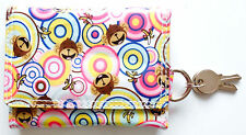 Ladies Girls Small Printed purse or wallet with coin pocket & Keyring Holder