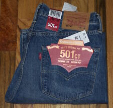 LEVIS LEVI'S 501 Ct Mens Button Fly Denim Jeans 32x30 $79.50 Free Shipping