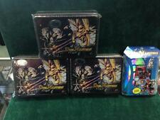 DUEL MASTERS CCG FACTORY SEALED LOT (3 TINS AND 1 2 PLAYER STARTER SET)