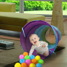 Portable Foldable Play Tunnel Toys Tent Kids Children Pop Up Discovery Tube Game