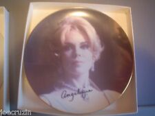 LIMITED EDITION PLATE DARK SHADOWS Lara Parker Angelique Signed auto AUTOGRAPH