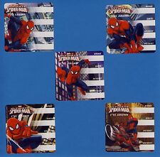 15 Spiderman I've Grown - Height and Weight - Large Stickers - Party Favors
