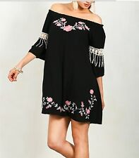 UMGEE Floral Embroidered Dress New Arrival NWT Size Med