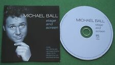Michael Ball Stage and Screen inc How Deep is Your Love & With One Look + CD