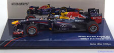 1:43 Minichamps Red Bull  RB9  GP Brazil Vettel  World Champion 2013