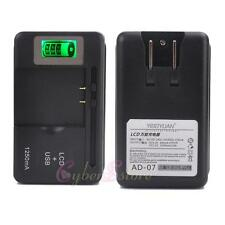 Universal Cell Phones/Camcorder/Mobile Battery Charger - LCD Screen - LATEST A07