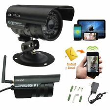 Security IP Camera Outdoor Waterproof Wireless CCTV WIFI HD Alarm Night Vision N