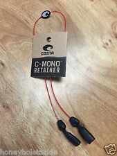 BRAND NEW COSTA DEL MAR C-MONO LINE RETAINER KEEPER STRAP RED