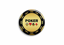 Humour - Poker 1 - Badge 25mm Button Pin
