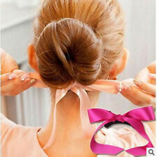 Multi-color Magic Foam Sponge Hair Device Headwear Ribbon Donut Quick Messy Bun