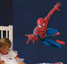 Spiderman pegatinas de pared removible Decoración Mural calcomanía CHILDS Infantil Niños Dormitorio