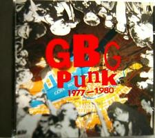 GBG PUNK 1977-1980 NSM 33-13 Nonstop Records 1992 Sweden 35track CD