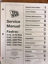 JCB Fastrac 3170, 3190, 3200, 3220, 3230, & Plus Models Service Manual