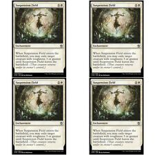 4 x SUSPENSION FIELD NM mtg Khans of Tarkir White - Enchantment Unc