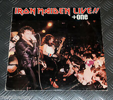 Iron Maiden 'Live Plus + One' LTD 9-track EP Greek 1984 Pressing V. Rare EX/VG