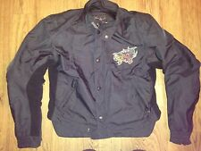 RARE Berik Design Scott Russell Genuine Racing Gear Womens Motorcycle Jacket *L*