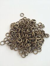 New! 1000 pcs Antique Bronze Open Jump Rings 5mm Jewelry Item #21B