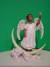 LENOX WISHING ON A STAR ANGEL sculpture NEW in BOX w/COA African American