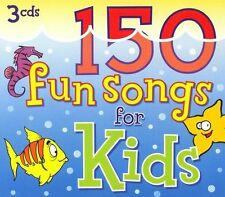 150 Fun Songs for Kids Countdown Kids Music-Good Condition