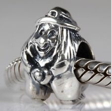WITCH WICKED Genuine 925 Sterling Silver charm bead fits European bracelet