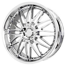 4-NEW Verde V41 Regency 16X7.5 5x114.3/5x120 +40mm Chrome Wheels Rims