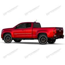 For: CHEVY COLORADO EXT CAB; Body Side Mouldings Moldings CHROME ABS 2015-2016