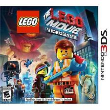 The LEGO Movie Video Game Nintendo 3DS 2014 2D 3D E10+ Sealed Free Shipping NEW