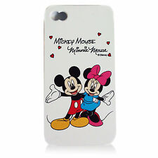 For iPhone 5 5S Minnie & Mickey Mouse Disney Flexible Silicone Fitted Case