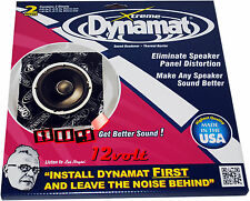 "Dynamat 10415 Xtreme Speaker Kit (2) 10"" x 10"" Sheets 1.4 ft² Total Coverage"