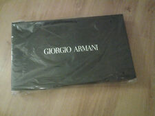 GIORGIO ARMANI  BLACK TRAVEL WEEKEND HOLDALL BAG - BRAND NEW SEALED IN BOX